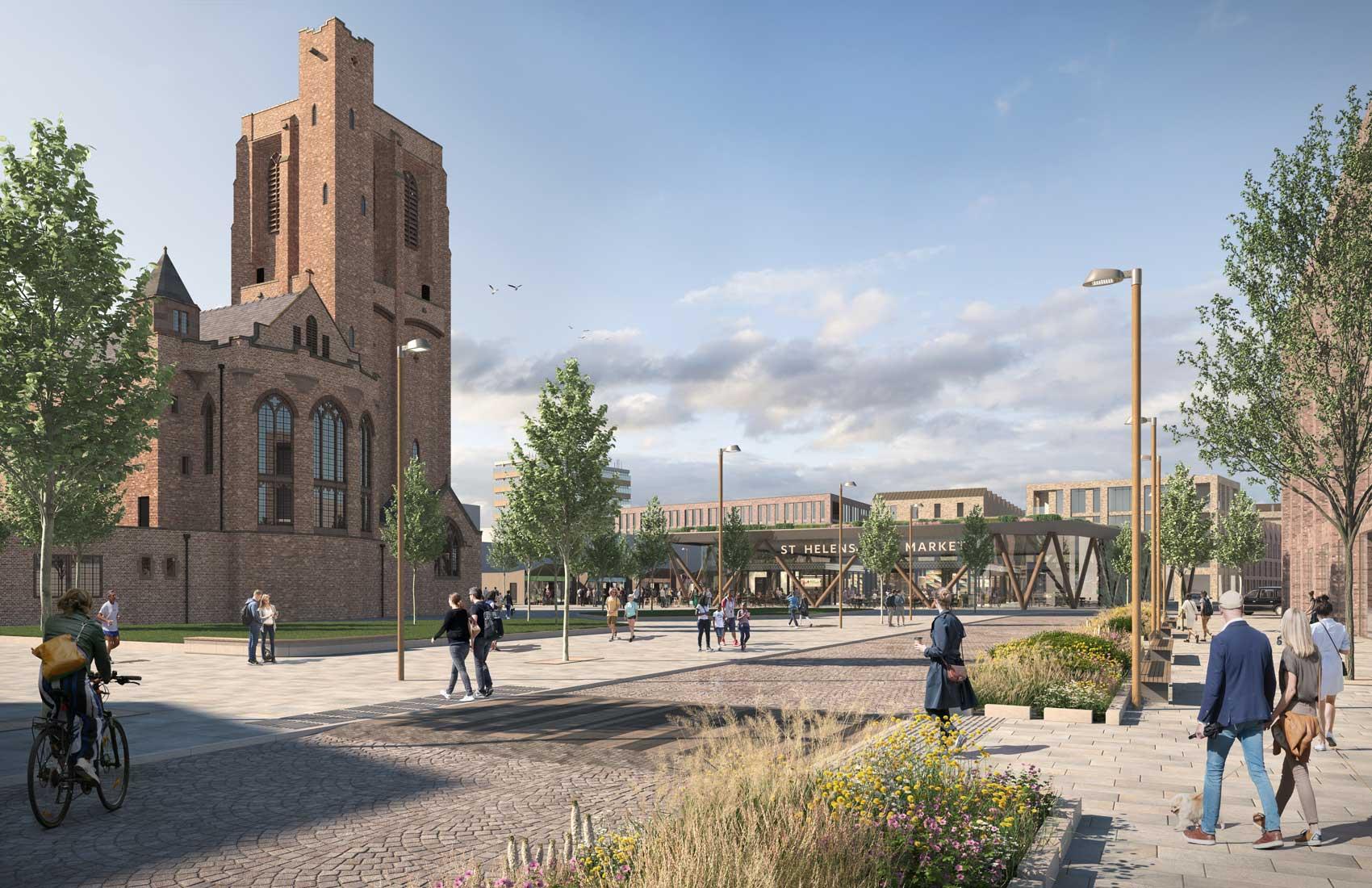 St Helens Town Centre Regeneration